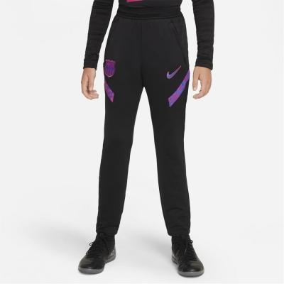 Pantaloni de trening Nike Barcelona Strike 2021 2022 pentru copii negru albastru roial