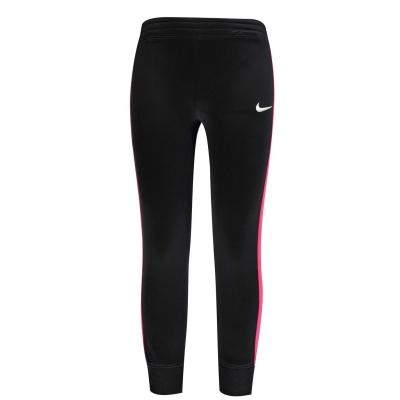 Pantaloni de trening Nike Swoosh pentru fete pentru Bebelusi negru roz