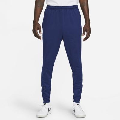 Pantaloni de trening Nike Therma-Fit Strike iarna Warrior pentru Barbati albastru galben