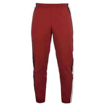 Pantaloni de trening Perry Ellis rosu burgundy