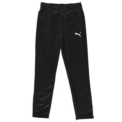Pantaloni de trening Puma conici pentru baietei negru