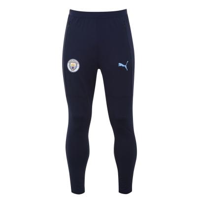 Pantaloni de trening Puma Manchester City 2020 2021 pentru Barbati bleumarin albastru