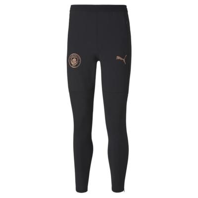 Pantaloni de trening Puma Manchester City 2020 2021 pentru Barbati negru maro