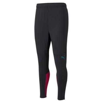 Pantaloni de trening Puma Manchester City antrenament 2021 2022 pentru Barbati negru