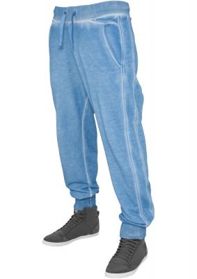 Pantaloni de trening stramti jos albastru-deschis Urban Classics