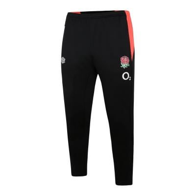 Pantaloni de trening Umbro Anglia conici pentru copii negru coral