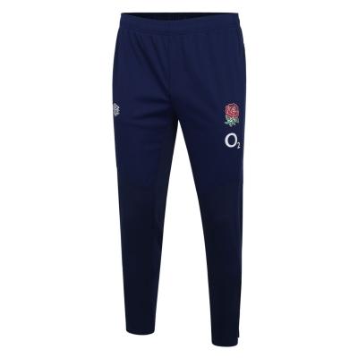 Pantaloni de trening Umbro Anglia Rugby Tape pentru copii albastru