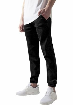 Pantaloni denim barbati negru-washed Urban Classics