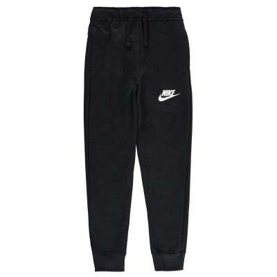 Pantaloni din bumbac Nike AV15 pentru baietei negru