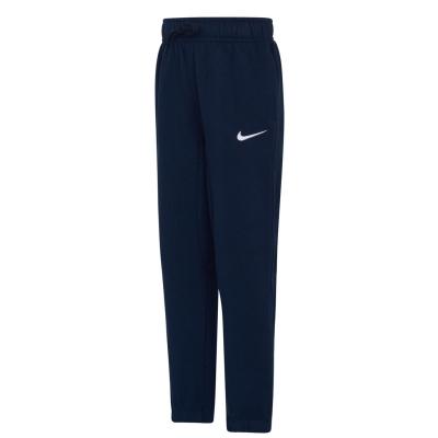 Pantaloni caldurosi Nike Club baietei bleumarin
