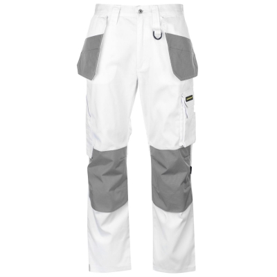 Pantaloni Dunlop On Site pentru Barbati alb gri