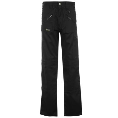 Pantaloni Dunlop Safety Zipper pentru Barbati negru
