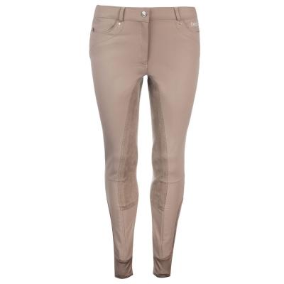 Pantaloni echitatie Breeches Requisite Lara pentru Femei bej