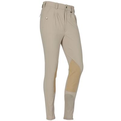 Pantaloni echitatie Breeches Shires Stratford pentru copii bej