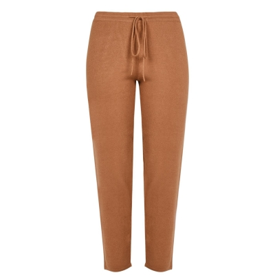 Pantaloni Emme Emme Rica tricot Ld14 maro