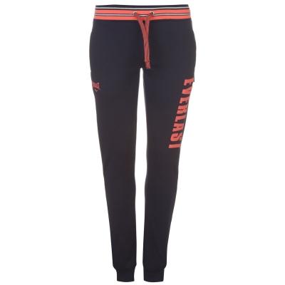Pantaloni Everlast cu imprimeu mare cu mansete pentru Femei