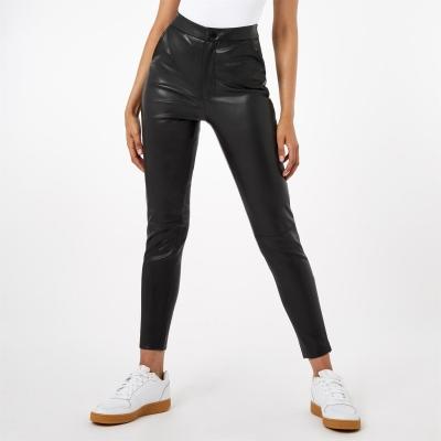 Pantaloni Firetrap PU negru