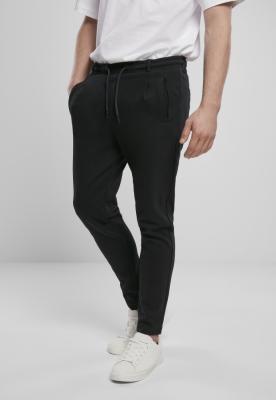 Pantaloni Formula Cropped urban Interlock negru Urban Classics