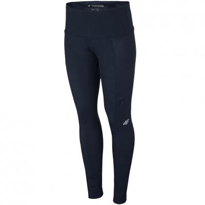 Pantaloni Functional 4F bleumarin inchis H4L21 SPDTR060 30S pentru femei