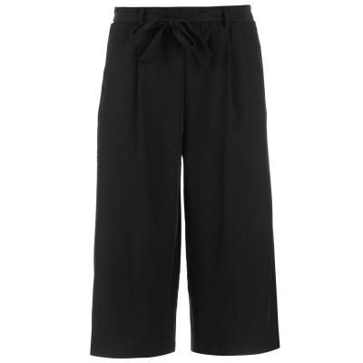 Pantaloni Golddigga Tie pentru Femei negru