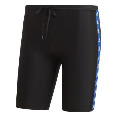 Pantaloni inot adidas adidas Fitness Taper Swim pentru Barbati negru albastru