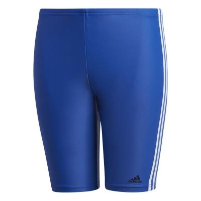 Pantaloni inot adidas Fitness 3-Stripes Swim pentru baieti teamroyal alb