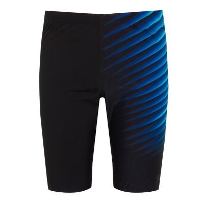Pantaloni inot Speedo Placement negru pentru Barbati deschis adr