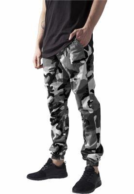 Pantaloni jogger barbati camuflaj deschis Urban Classics
