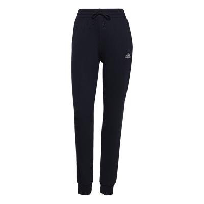 Pantaloni jogging adidas adidas Linear Slim Fit bumbac pentru Femei legend albastru