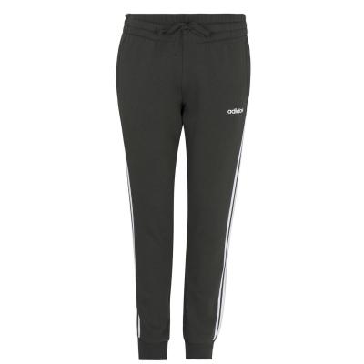 Pantaloni adidas 3-Stripes Slim pentru femei legendearth alb