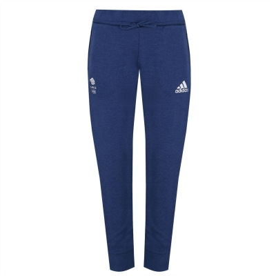 Pantaloni jogging adidas Team GB pentru Femei tech albastru