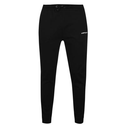 Pantaloni jogging Airwalk Side Logo negru