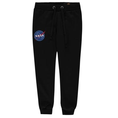 Pantaloni jogging Alpha Industries NASA negru