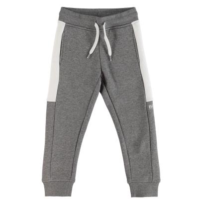Pantaloni jogging Boss Hugo Boss Poly pentru copii gri a45