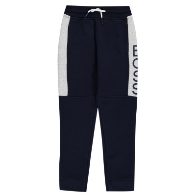 Pantaloni jogging Boss albastru gri v40