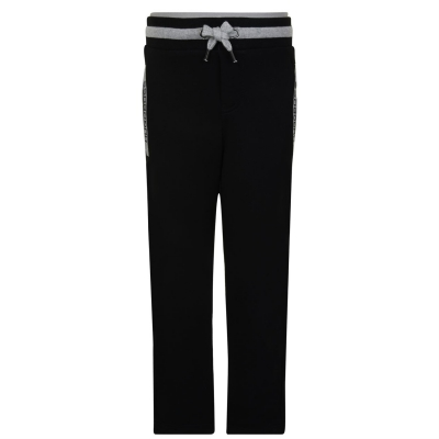 Pantaloni jogging BOSS negru 09b