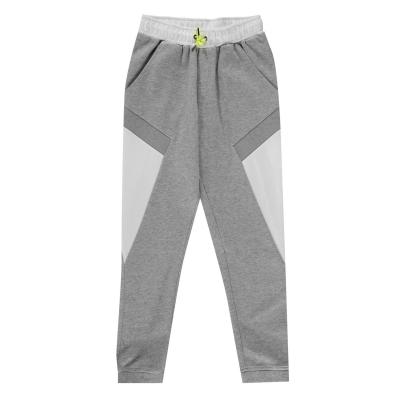 Pantaloni jogging Boss Side Logo gri a33