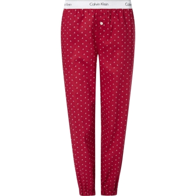 Pantaloni jogging Calvin Klein Calvin Klein Jersey star roz inchis 8z2