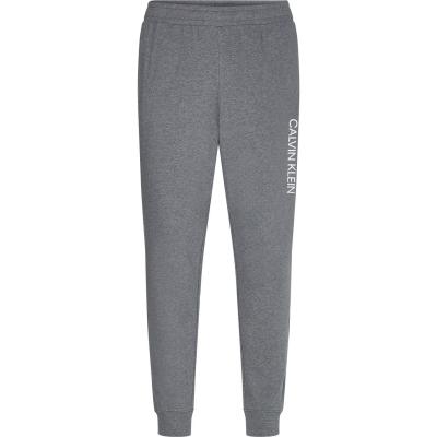 Pantaloni jogging Calvin Klein Performance Essential Logo med hthr gri