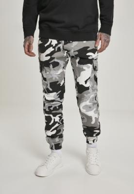Pantaloni jogging Camo Cargo 2.0 camuflaj Urban Classics snow