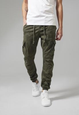 Pantaloni jogging Camo Cargo oliv-camuflaj Urban Classics