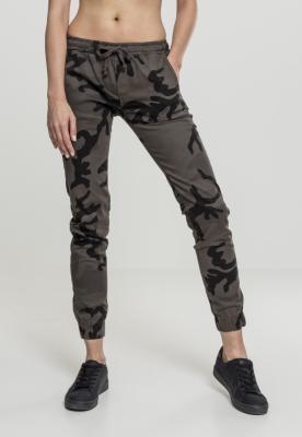 Pantaloni jogging Camo pentru Femei inchis-camuflaj Urban Classics