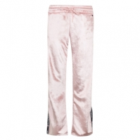 Pantaloni jogging Champion catifea roz