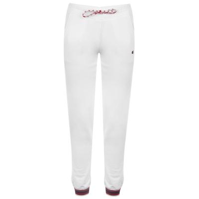 Pantaloni jogging Champion Ribbed Cuff alb
