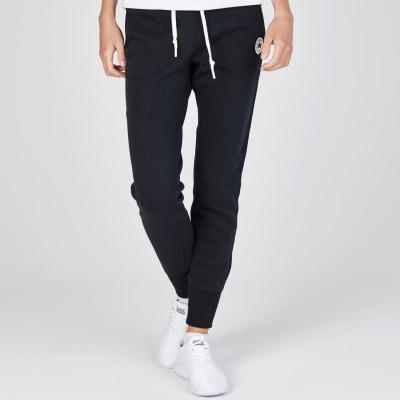 Pantaloni jogging Converse Basic negru
