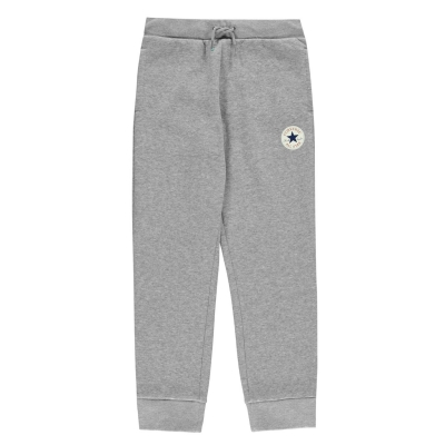 Pantaloni jogging Converse Chuck baietei gri deschis