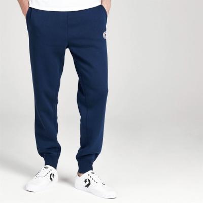 Pantaloni jogging Converse Core Rib Cuff bleumarin