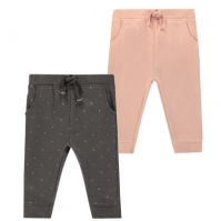 Pantaloni jogging Crafted Essentials . roz gri carbune
