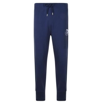 Pantaloni jogging Diesel cu mansete bleumarin 89da