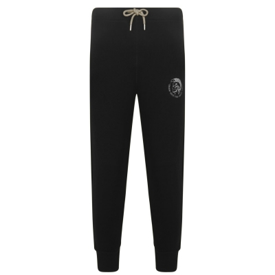 Pantaloni jogging Diesel cu mansete negru